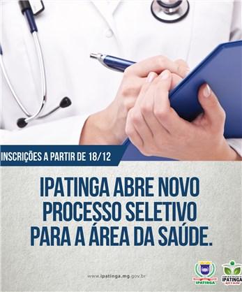 Processo Seletivo da Saúde - Ipatinga-MG